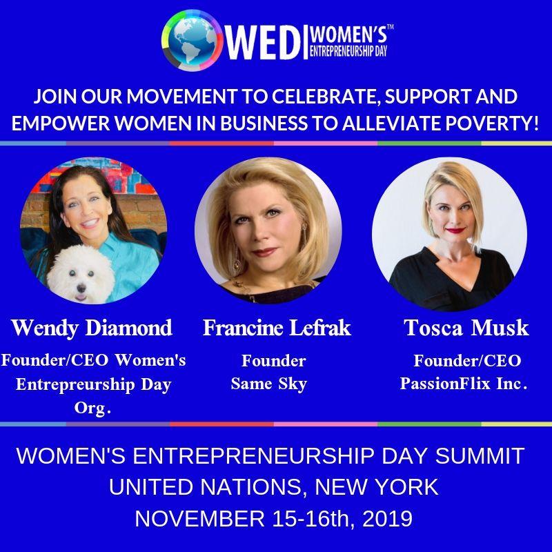 United Nations Delegates Dining Room: Women's Entrepreneurship Day